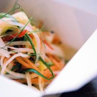 Pickled papaya salad